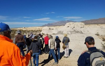 Members Enjoyed Special Hike with U.S. Geological Survey Geologists